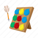 target, carnival, balloon, dart, game, fun, cartoon icon