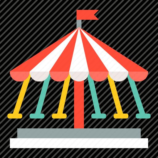 amusment, entertainment, park, rides, swing ride, theme park icon