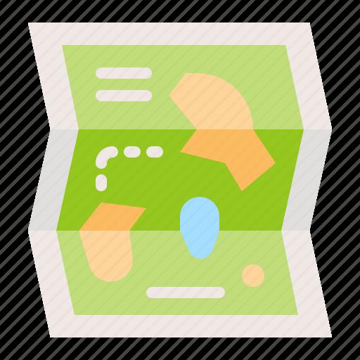 amusment, location, map, park, place icon