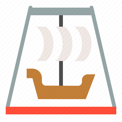 amusment, entertainment, park, pirate ship ride, rides, theme park, viking rides icon