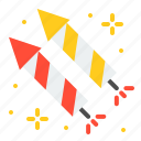 amusment, entertainment, firecracker, firework, park, theme park icon