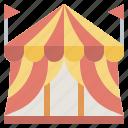 circus, amusement, childhood, fun, park icon