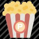 amusement, cinema, food, park, popcorn, salty, snack
