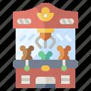 amusement, childhood, circus, fair, machine, park, toy icon