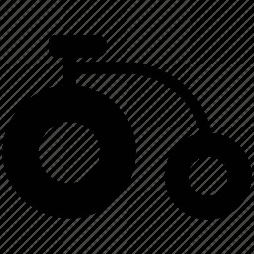 circus cycle, monocycle, monowheel, one wheel cycle, unicycle icon