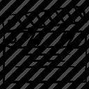 clip, making, movie icon