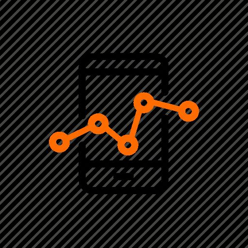 analysis, analytic, graph, mobileloganalysis, report, status, user icon