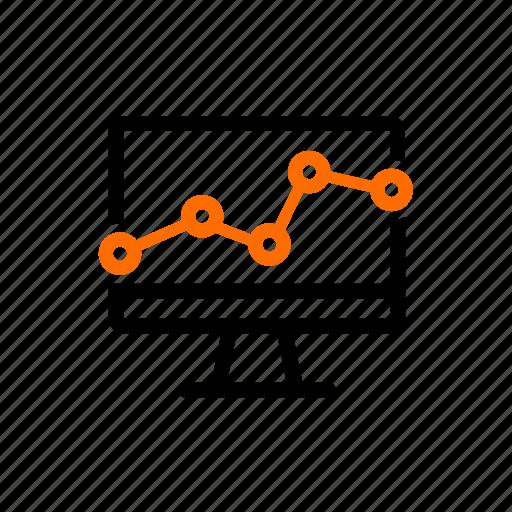 analysis, analytic, dashboard, log, user, web, weblog icon