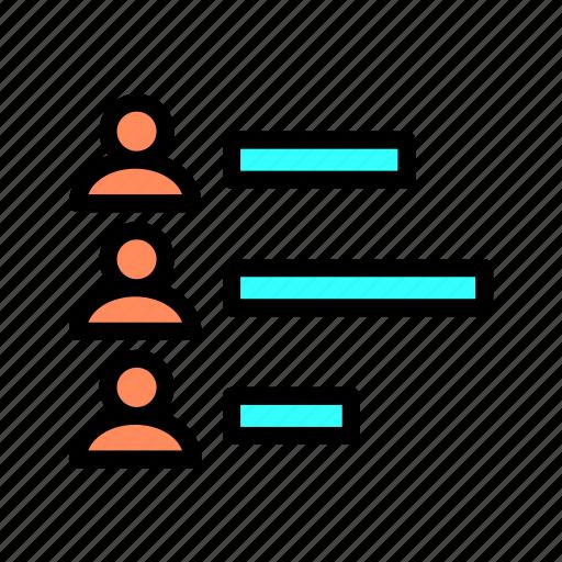 analysis, business, data, diagram, graph, management, marketing icon