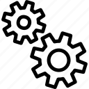 analytic, data, processing, statistics icon