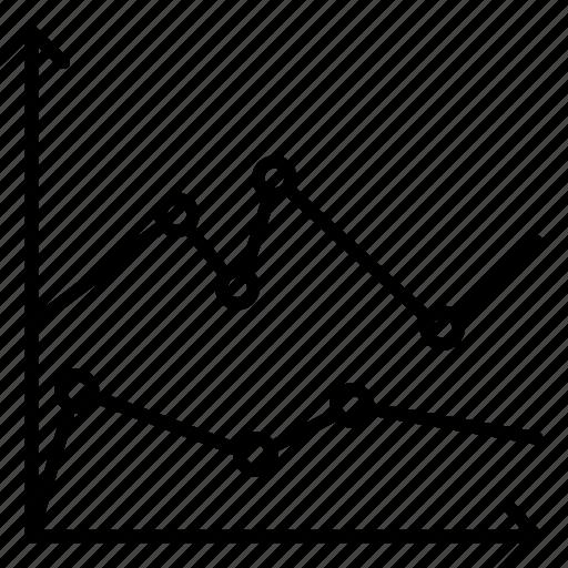 analytics, chart, ecommerce, economy icon