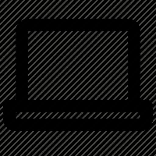 dashboard, graphs, laptop, sales icon