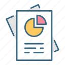 analysis, analytics, business, chart, data, presentation, report icon