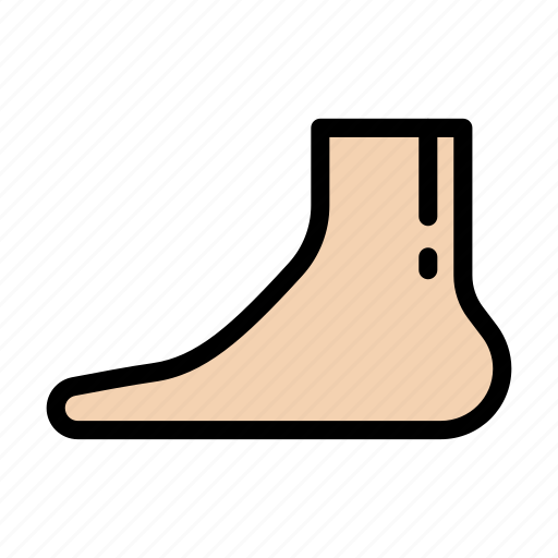 Foot, body, organ, anatomy, medical icon - Download on Iconfinder