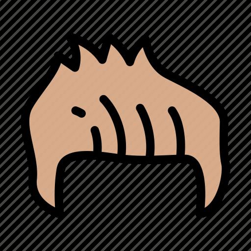 Hair, medical, body, organ, anatomy icon - Download on Iconfinder