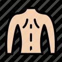 man, body, anatomy, back, medical