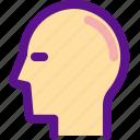 head, health, medicine, organ icon