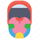 anatomy, buds, medical, taste icon