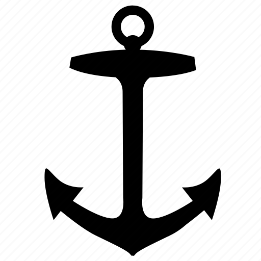 anchor, boat, equipment, ship icon