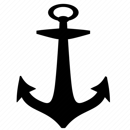 anchor, boat, sailor, ship icon