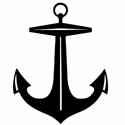 anchor, boat, classic, marine, ship icon