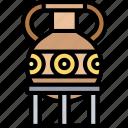 amphora, pot, jar, vessel, storage
