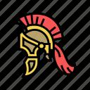 legionary, helmet, ancient, rome, antique, history