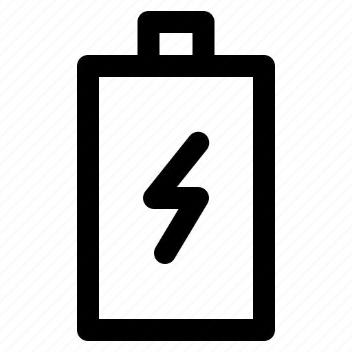 battery, cell, charging, electricity, electronics, power icon