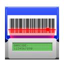 1281white0, 48, 8, barcode, m, reader, sobre icon