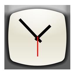 base, btn, clock icon
