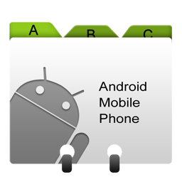 android, base, contacts, loadavg icon