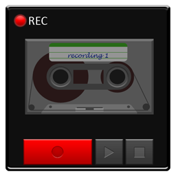 android, base, detailed, recorder icon
