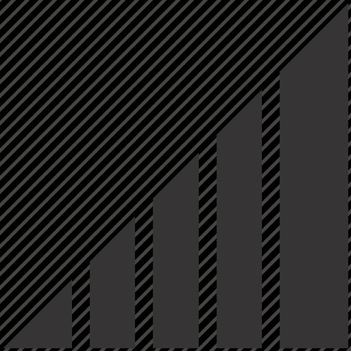 chart, net, signal, web icon