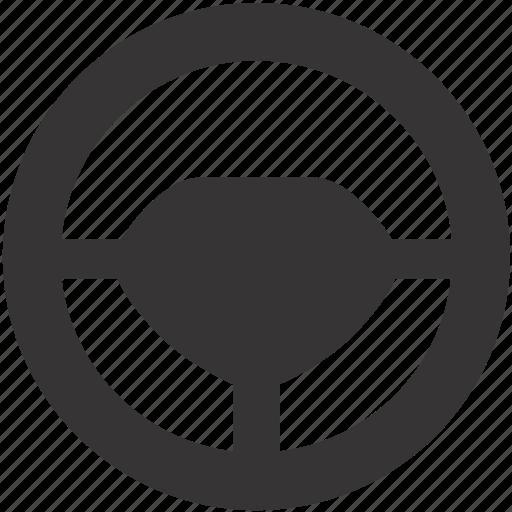 auto, automobile, car, steering, wheel icon