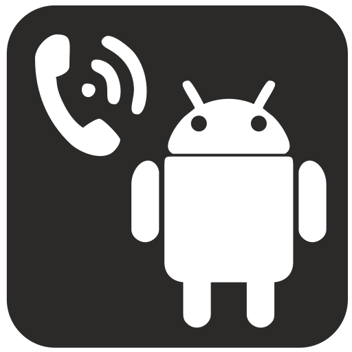 android, call, connection, technology icon