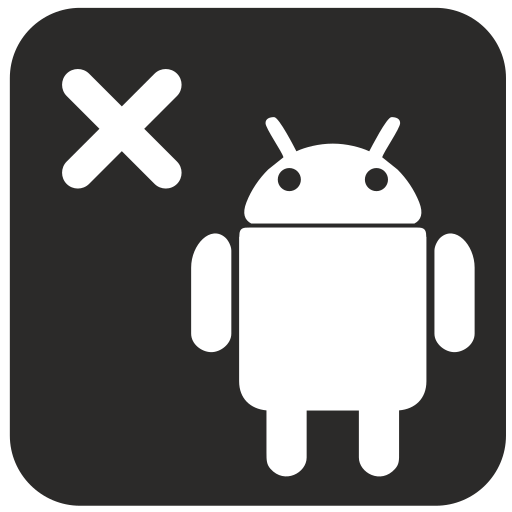 android, cancel, internet, mobile, technology icon