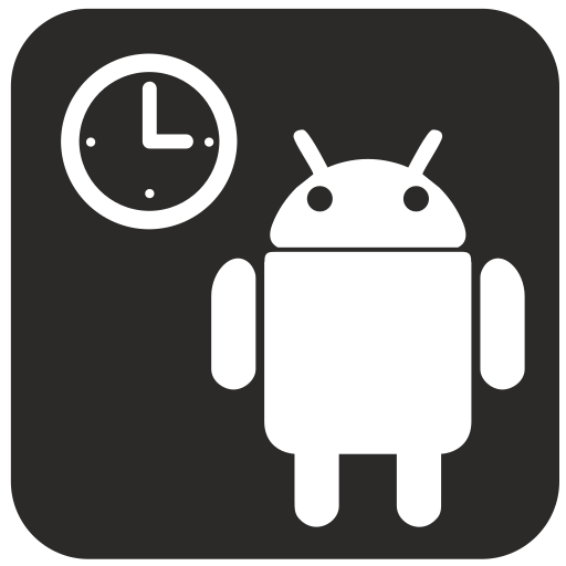 android, clocks, mobile, phone, smartphone icon