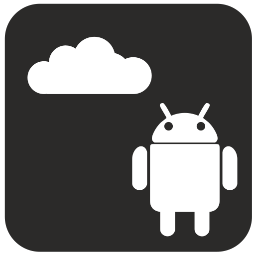 android, cloud, internet icon