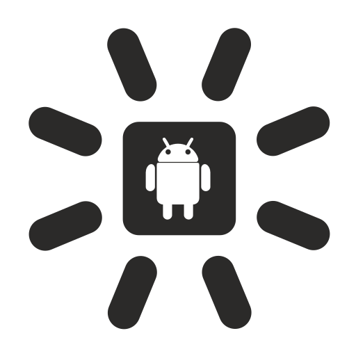 android, loading, mobile icon
