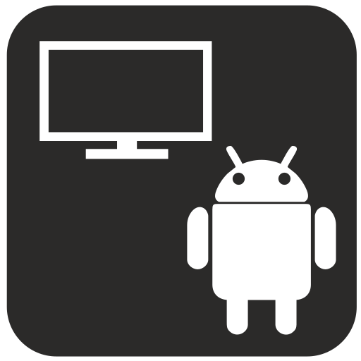 android, monitor, tv icon