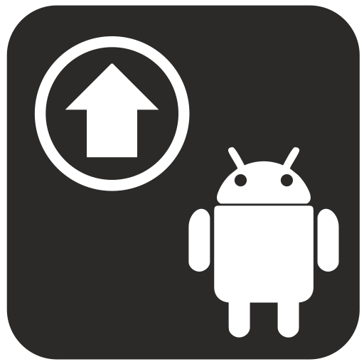 android, internet, up, upload icon