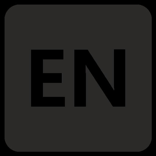 en, language, web icon