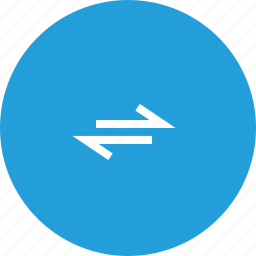 arrow, bidirectional, direction, path, twoway, viceversa icon