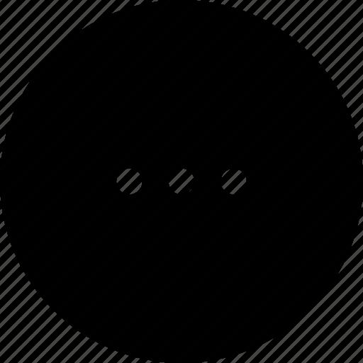 continue, copy, ellipsis, menu, more, options icon
