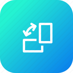 mobile, orientation, rotate, rotation, screen, window icon