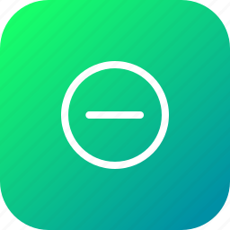 circle, interface, minus, remove, subtract icon