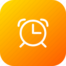 alarm, alert, bell, clock, schedule, time, watch icon