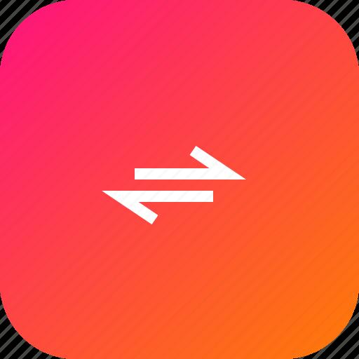 arrow, bidirectional, direction, path, twoway, viceversa icon