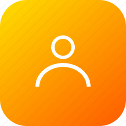 account, contact, interface, man, profileoutline, user icon