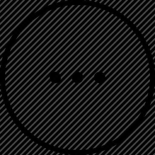 Continue, copy, ellipsis, menu, more, options icon - Download on Iconfinder